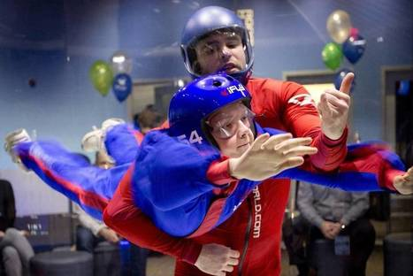 H-E-B students go indoor skydiving as a reward for good grades | Teacher Tools and Tips | Scoop.it