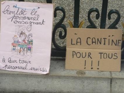 Lyon : plus de la moitié des cantines scolaires fermées lundi pour cause de grève | Lyon ma Ville | Scoop.it