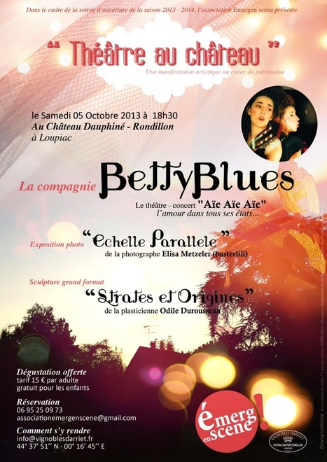 BettyBlues @Loupiac! | News du vin par le Château la Levrette | Scoop.it