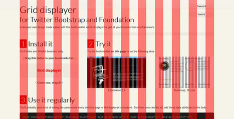 Grid Displayer - Bookmarklet for Twitter Bootstrap and Foundation - CodeVisually | Lectures web | Scoop.it