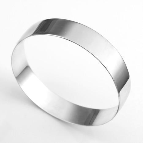 ANAZOZ Stainless Steel Bracelet Cuff Bangle 8.5Inch Black Silvery Leather Mens Jewelry