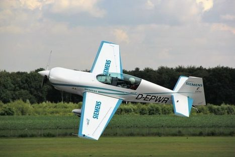 Siemens Demonstrates Electric Motor For Aircrafts - 260 kW, Weighing 50 kg | Cool Future Technologies | Scoop.it