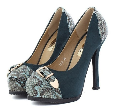Wholesale Wholesale shoes comfortable fashion pumps XD-GY13-6 navy green - Lovely Fashion | fashion chic styles(peep toe,pumps) | Scoop.it