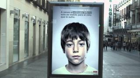 This Ad Has a Secret Anti-Abuse Message That Only Kids Can See | Guys, Dads, Husbands, Sons | Scoop.it