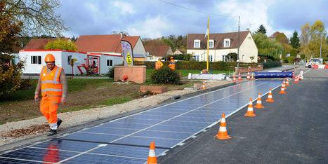 Ségolène Royal inaugure une première ROUTE solaire. Révolution écolo ou gadget hors de prix ? | URBANmedias | Scoop.it