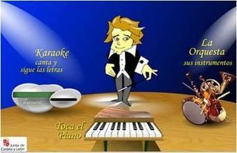 MÚSICA PRIMARIA: Tercer ciclo:Aprende canciones al piano y otras cantadas con Karaoke | Juegos Tic para Música Primaria | Scoop.it