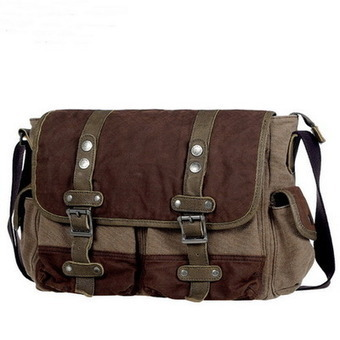 Forester canvas crossbody tool satchels bags for men from Vintage rugged canvas bags | Womens fashion | Scoop.it