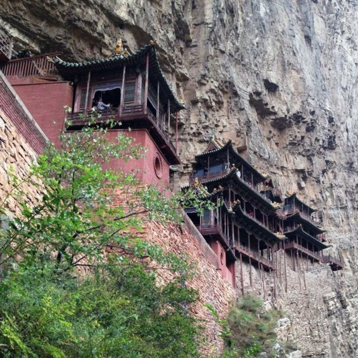 Iconic Buildings The Hanging Monastery Datong | ABC (Australie) | Kiosque du monde : Asie | Scoop.it