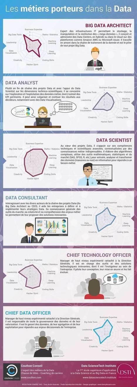 Informatique : quels sont les métiers porteurs de la data ? - RegionsJob | Geeks | Scoop.it