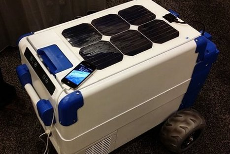 Solar-Powered Cooler Harnesses The Sun For Emergency Relief [Video] - PSFK | Sustain Our Earth | Scoop.it
