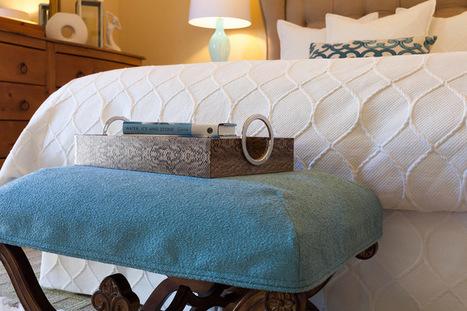 Fabric Focus: Thick, Textured Matelassé | Designing Interiors | Scoop.it