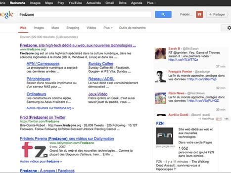 Intégrer Twitter à la recherche Google   Fredzone   Tout savoir sur Twitter   Scoop.it