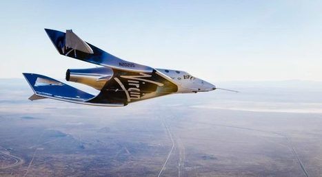 Second SpaceShipTwo performs first glide flight | SpaceNews.com | The NewSpace Daily | Scoop.it