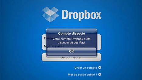 Dissociez à distance un appareil lié à Dropbox | MultiAstuces Eric OTHON | Scoop.it