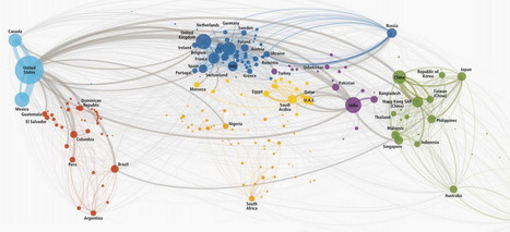 This map of international phone calls explains globalization | Emergent Digital Practices | Scoop.it