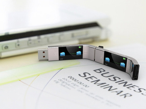 U Transfer USB Stick Concept by Yiyan Cao | The Wondrous Design Magazine | Design Love | Scoop.it