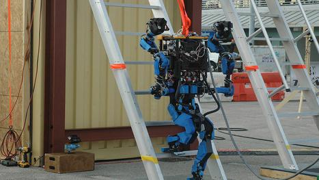 Google's Newly Acquired SCHAFT Robot Walks Away A Winner - Gizmodo | Robot & AI | Scoop.it