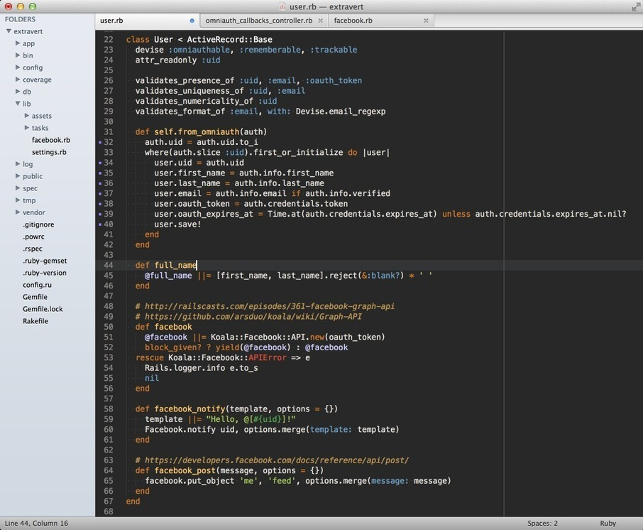 Setting up Sublime Text for Ruby development |