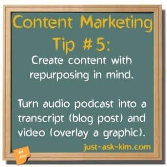 Content Marketing Tip #5 – Video-Audio-Text Work-Flow | Content marketing en SEO | Scoop.it