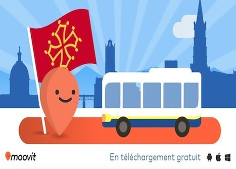 Moovit arrive à Toulouse ! | Toulouse networks | Scoop.it