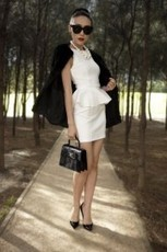 What's Hot: The Peplum Dress | THE LOS ANGELES FASHION | Best of the Los Angeles Fashion | Scoop.it