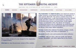 Roy Rosenzweig Center for History and New Media » Blog Archive » Remembering with the September 11 Digital Archive | Digital  Humanities Tool Box | Scoop.it