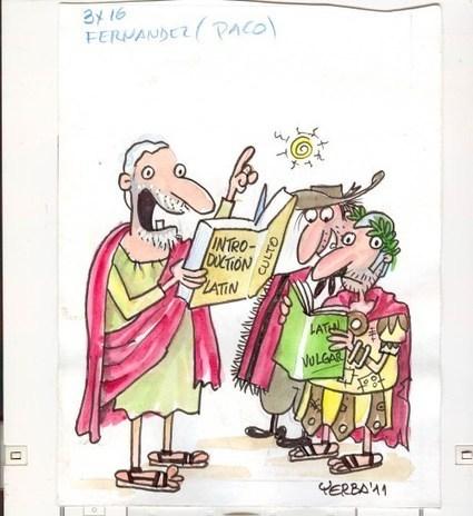 Diferenza entre latín culto e vulgar