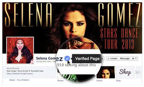 Facebook lanza opción de cuentas verificadas.- | Google+, Pinterest, Facebook, Twitter y mas ;) | Scoop.it