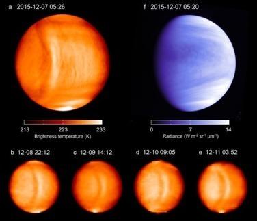 Una misteriosa onda gigante detenida en la atmósfera de Venus | Universo y Física Cuántica | Scoop.it