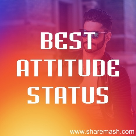 273+ [Best] Attitude Status for Whatsapp in Eng