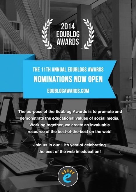 Our Nominees For The 2014 Edublog Awards | Design in Education | Scoop.it