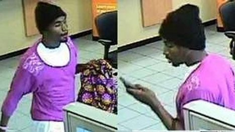 Florida man robs bank wearing lacy pink sweater and fuzzy pink slippers, carrying handbag | free weezy :))) | Scoop.it