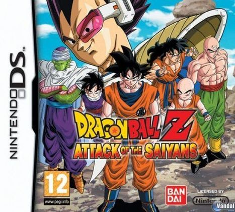 Dragon Ball Z Attack of the Saiyans DS ROM Free