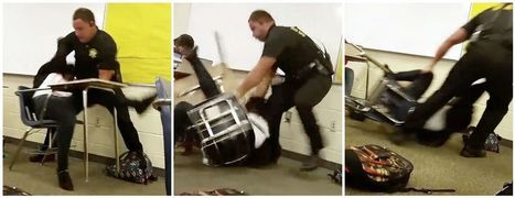 Former South Carolina school officer won't face civil rights charges for throwing high school student out of desk | Police Problems and Policy | Scoop.it