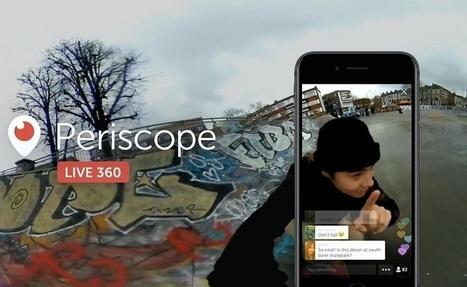 #Video: Twitter et Periscope proposent la vidéo 360° en direct | La petite revue du journaliste web | Scoop.it