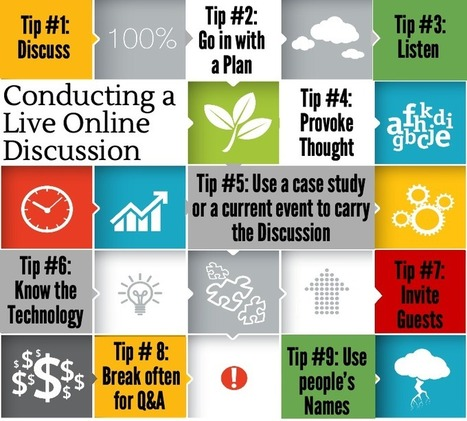 9 Tips For Anyone Running An Online Discussion   GEDB   Pedagogy and technology of online learning   Scoop.it