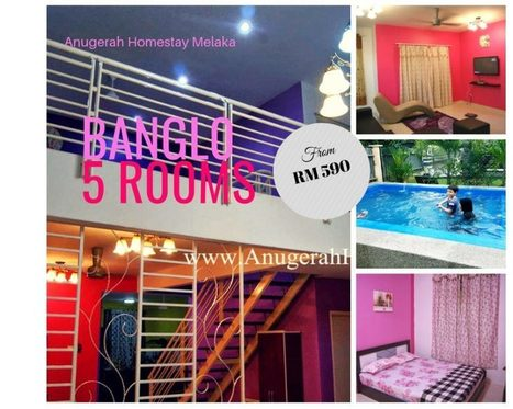 Homestay Melaka: Standard or Villa private Swimming Pool Kolam renang | homestay melaka with swimming pool | Scoop.it