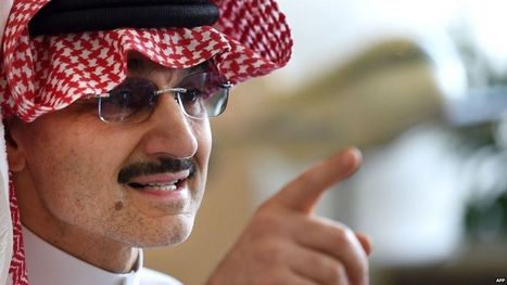 Saudi prince to donate $32bn fortune to charity - BBC News | inspiring | Scoop.it