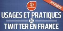 Profil et usages des utilisateurs Twitter en France | Au fil du Web | Scoop.it