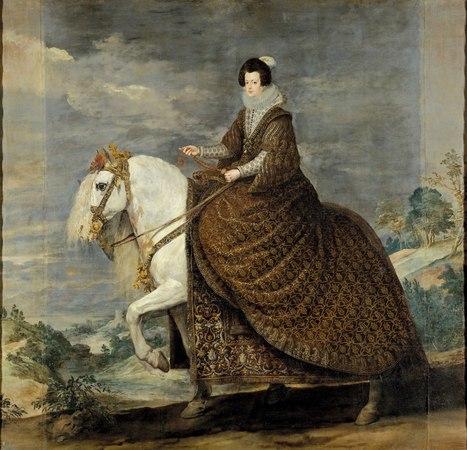 """La reina Isabel de Borbón a caballo"", de Velázquez:   Vibraciones   Scoop.it"