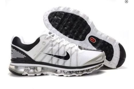 new high quality shop official images Chaussures Nike Air Max 2009 Hommes Blanc Vert ...
