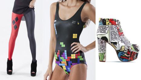 Harley Quinn Leggings, 'Tetris' Swimwear, and Comic Footwear From Black Milk Clothing - ComicsAlliance | Cosplay News | Scoop.it