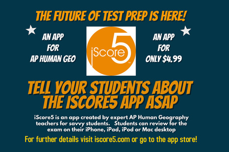 iScore5   Geography Education   Scoop.it