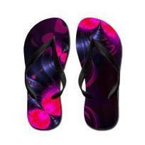 Abstract Pink Rose Fairy Flower Flip Flops> Flower Fairy> Diane Clancy's Fine Art Shop | Fashion to Delight You for Home and to Wear | Scoop.it