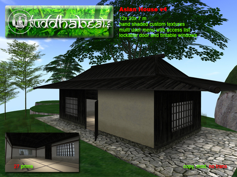 Asian House v4 by buddhabeats | Teleport Hub | Second Life Freebies | Scoop.it