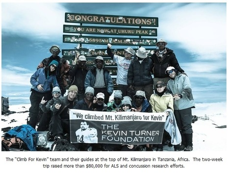 """""""Climb For Kevin"""" Mt. Kilimanjaro Expedition Nets $80,000 For ALS/Concussion Research 