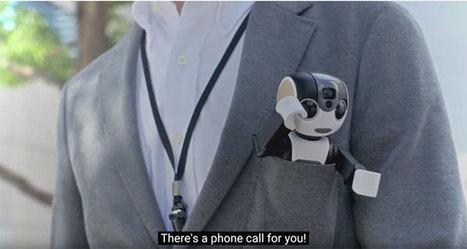 RoBoHon is a Smartphone that Walks & Talks... Seriously. | El rincón de mferna | Scoop.it