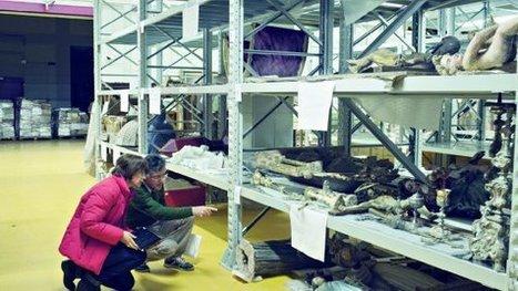 """Terremoto, viaggio nel bunker delle opere salvate: """"Così ridiamo vita all'arte""""   Italica   Scoop.it"""
