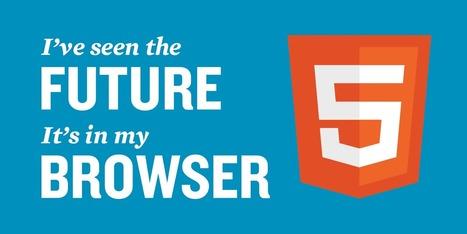 Partageons l'addiction: HTML 5 et les applications web pour les nuls | DevWeb | Scoop.it