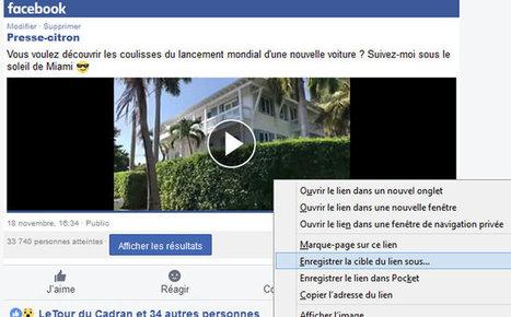 Télécharger facilement une vidéo de Facebook | Outils, logiciels et tutos : de la curiosité à l'indispensable | Scoop.it